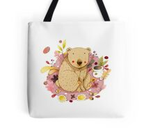 Bear with Honey-Pot Tote Bag