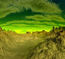 I'm Dreaming of Green Skies - A Pano by AlienVisitor
