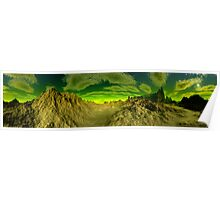 I'm Dreaming of Green Skies - A Pano Poster