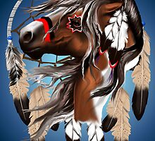 Paint Horse Dreamcatcher by Lotacats