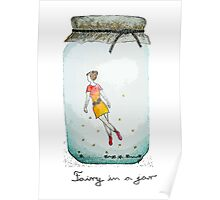 Fairy in a jar Poster