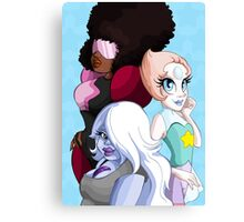 Crystal Gems Canvas Print
