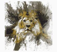 majestic lion by arteology