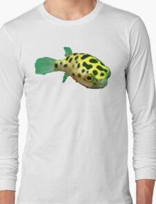 Green Spotted Puffer Long Sleeve T-Shirt