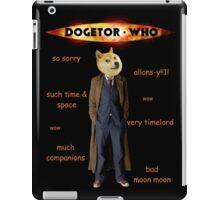 Dogetor Who iPad Case/Skin