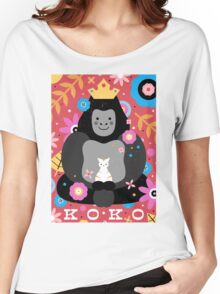 Koko the Gorilla  Women's Relaxed Fit T-Shirt