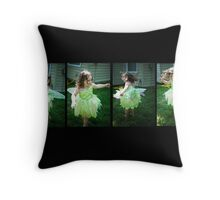 Fairy Dance 2 Throw Pillow