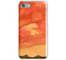 Desert at Sunset iPhone Case/Skin
