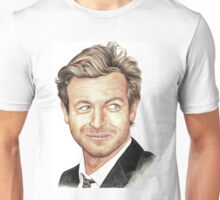 The Mentalist played by Simon Baker Unisex T-Shirt