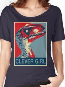 Raptor Propaganda - Clever Girl  Women's Relaxed Fit T-Shirt