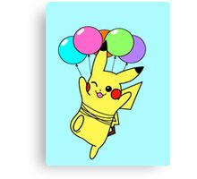 Pikachu Used Fly! Canvas Print