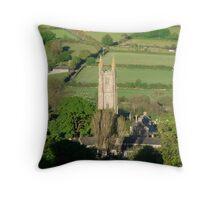 Widecombe in the moor, Dartmoor...Devon  Throw Pillow