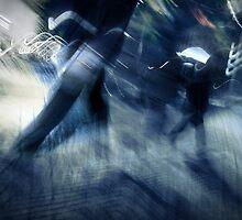 blue rush hour melodrama by Dorit Fuhg