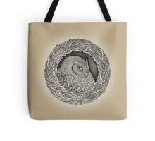 Owl ink illustration Tote Bag