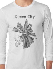 Charlotte, black and white Long Sleeve T-Shirt