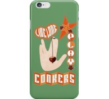 Live long play conkers iPhone Case/Skin