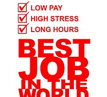 tax consultant low pay high stress long hours best job in the world by teeshoppy