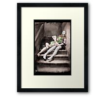 Gothic Photography Series 093 Framed Print