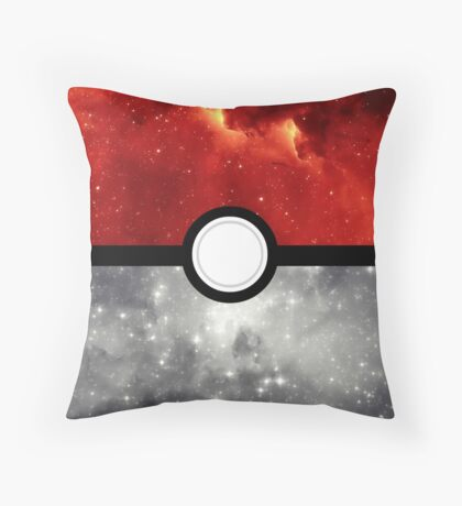 Pokéball Galaxy Throw Pillow