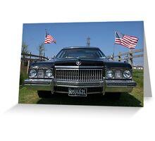 1972 Cadillac Fleetwood Greeting Card