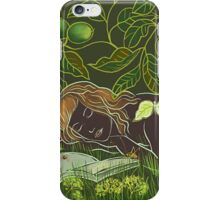 Green dark iPhone Case/Skin