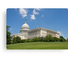 Washington D.C's Capital  Canvas Print