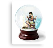 Snow Globe 5 Canvas Print