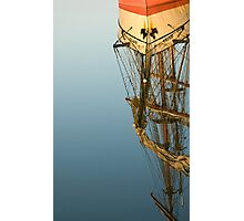 TallShip Reflection Photographic Print