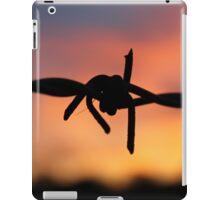 Barbed Silhouette iPad Case/Skin