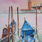 Gondolas on Break by Christiane  Kingsley