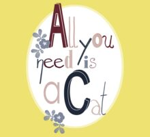 All you need is a Cat Kids Clothes
