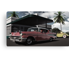 Ratso's Garage Canvas Print