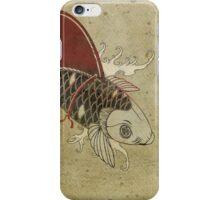 koi shark fin 03 iPhone Case/Skin