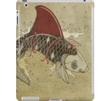 koi shark fin 03 iPad Case/Skin