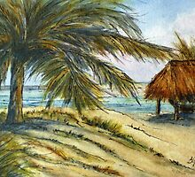 Caribbean Playa by Betty Burnitt