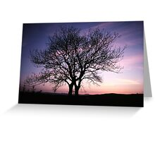 Two Trees embracing Greeting Card