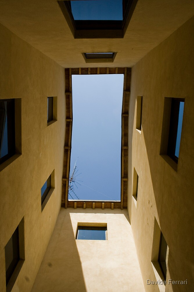 A window on the sky by Davide Ferrari