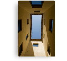 A window on the sky Canvas Print