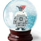 Snow Globe 6 by Margaret Orr