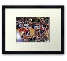 Amgen Tour of California Framed Print