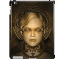 Steampunk female machine iPad Case/Skin