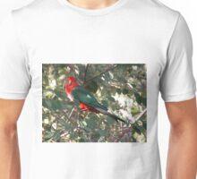 Parrot in a berry bush, Talbingo, Australia. Unisex T-Shirt