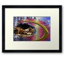 Ancient Times to Space Age Framed Print