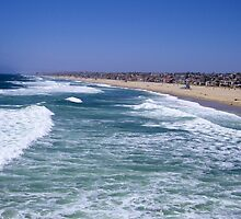 Enjoy Life-Hermosa Beach, California by Elenne Boothe