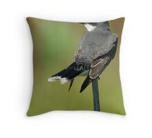 Eastern Kingbird (tyrannus tyrannus) Throw Pillow