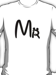 Disney Honeymoon Mr and Mrs T-shirts T-Shirt