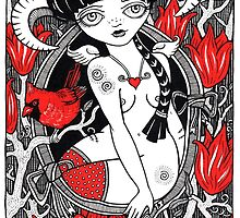 REDS BY ANITA INVERARITY by Anita Inverarity