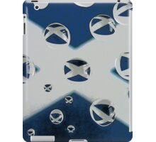 Saltire in the Rain iPad Case/Skin