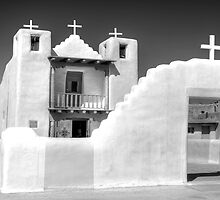 Taos Pueblo Church by rjcolby