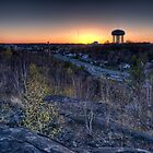 Sudbury Skyline-Watertower View by THECUCKOOPHOTOG